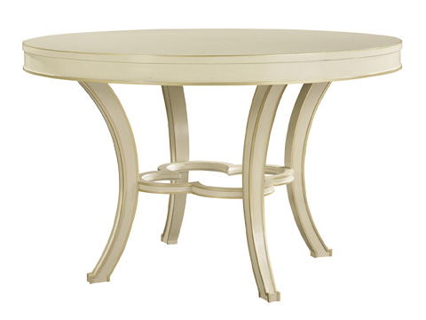 Hickory Chair - Collier Round Dining Table - 1542-10/1542-11