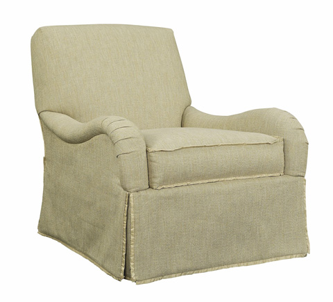 Hickory Chair - Emory Skirted Chair - 1601-21