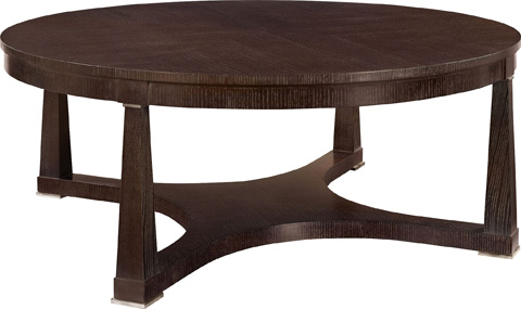 Hickory Chair - Bowman Cocktail Table in Ash - 183-10