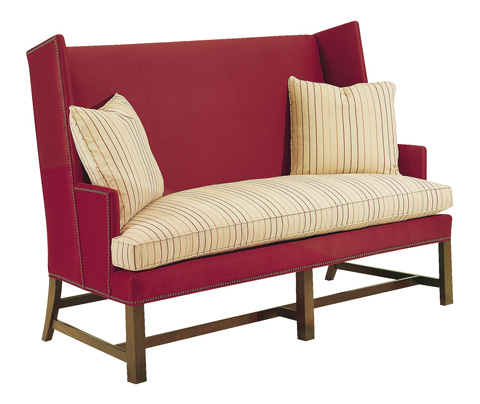 Hickory Chair - Farm Wing Settee - 333-68
