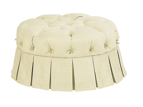 Hickory Chair - Tufted Victorian Pouff - 5018-89