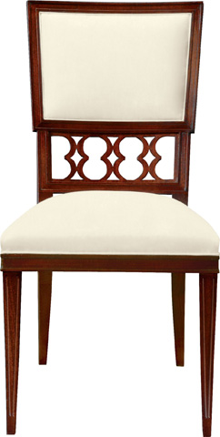 Hickory Chair - Ilsa Side Chair with Back Panel - 5350-02
