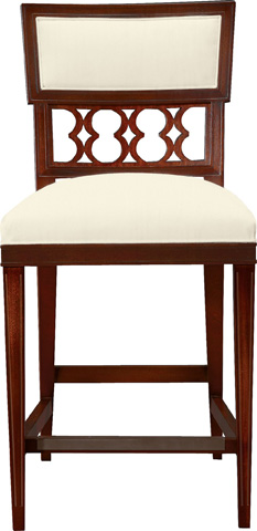 Hickory Chair - Ilsa Counter Stool with Back Panel - 5350-03