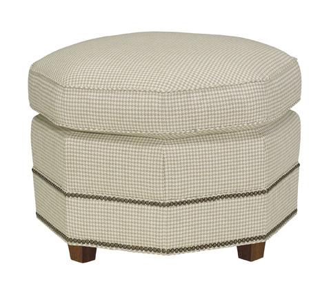 Hickory Chair - Octagonal Ottoman - 7619-30