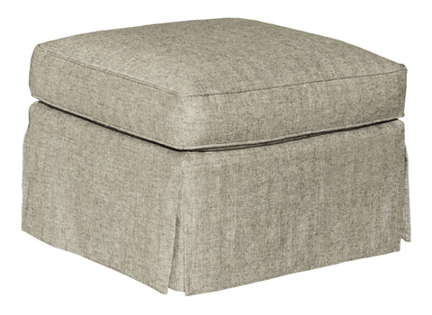 Hickory Chair - St. Charles Made To Measure Ottoman - 2601-53