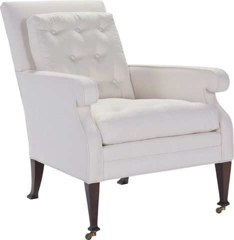 Hickory Chair - Everett Button Lounge Chair - 3306-24