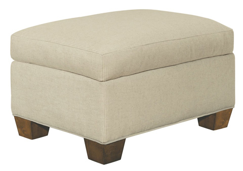 Hickory Chair - MacDonald Exposed Leg Ottoman - 5418-53