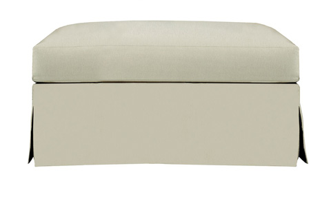 Hickory Chair - Marquette Made To Measure Dressmaker Ottoman - 706-53