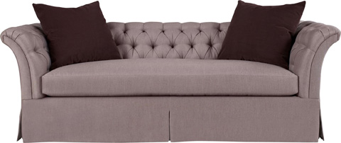 Hickory Chair - Marquette Tufted Dressmaker Sofa - 706-89