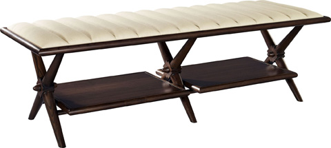Hickory Chair - Fulham Bench - 3381-30/3381-70