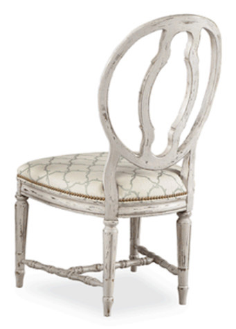 Hickory White - Oval Splat Back Side Chair - 631-62