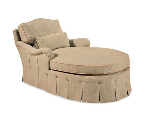 Hickory White - Chaise Lounge with Skirt - 4266-02