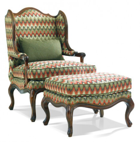 Hickory White - Upholstered Wing Chair - 4630-01