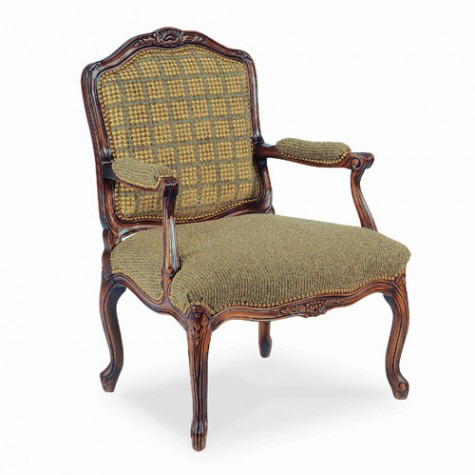 Hickory White - Exposed Wood Arm Chair - 4633-01