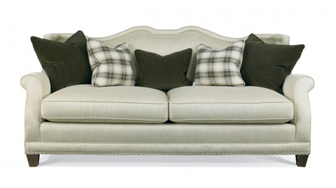Hickory White - Sofa with Rolled Arms - 4824-05