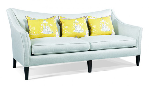Hickory White - Upholstered Two Cushion Sofa - 5005-05