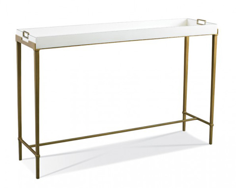 Hickory White - Bailey Console in Gold - 903-33G
