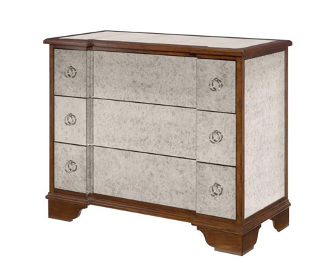Highland House - Natalie Mirrored Chest - HH25-705-AS