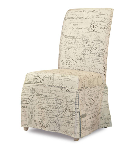 Hooker Furniture - Clarice Skirted Chair in Document - 200-36-068