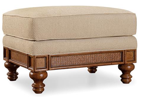 Hooker Furniture - Windward Dart Honey Ottoman - 1125-52016