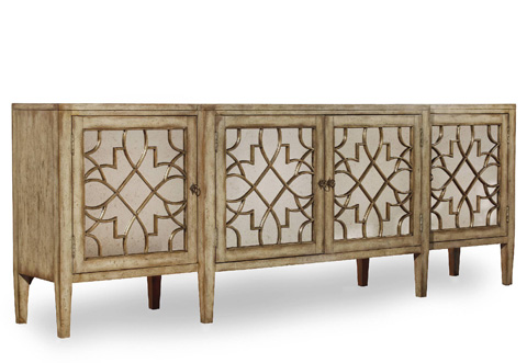 Hooker Furniture - Sanctuary Four-Door Mirrored Console - 3013-85001
