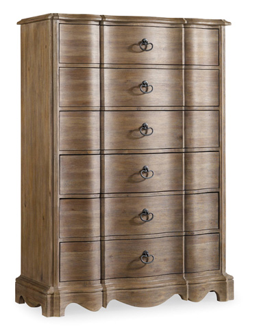 Hooker Furniture - Corsica Six Drawer Chest - 5180-90010