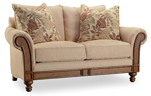 Hooker Furniture - Windward Dart Honey Loveseat - 1125-52014
