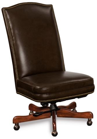 Hooker Furniture - Sicilian Cipriani Chocolate Brown Executive Chair - EC373-089