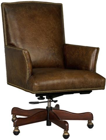 Hooker Furniture - Inscription Mural Executive Swivel Tilt Chair - EC404-088