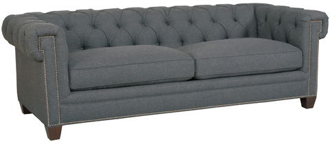 Hooker Furniture - Linosa Charcoal Sofa - SS195-03-020