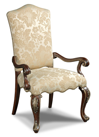 Hooker Furniture - Grand Palais Lillian Tush Arm Dining Chair - 300-350082