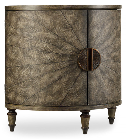 Hooker Furniture - Melange Tatum Demilune Chest - 638-50128