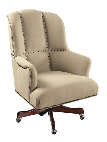 Hooker Furniture - Larkin Oat Executive Swivel Tilt Chair - EC433-010