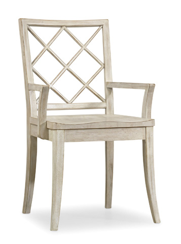 Hooker Furniture - Sunset Point X Back Arm Chair - 5325-75300