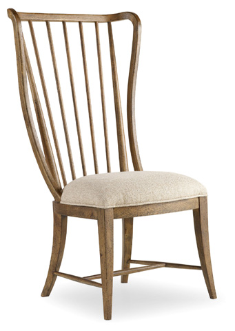 Hooker Furniture - Sanctuary Brighton Tall Spindle Side Chair - 5401-75410
