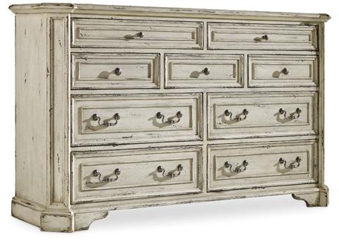Hooker Furniture - Sanctuary Brighton Nine Drawer Dresser - 5403-90002