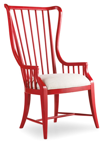 Hooker Furniture - Sanctuary Brighton Tall Spindle Arm Chair - 5404-75400