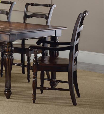 Hooker Furniture - Eastridge Ladderback Arm Chair - 5177-75300