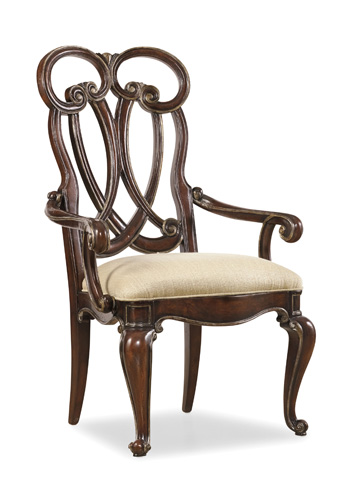 Hooker Furniture - Grand Palais Splat Back Arm Chair - 5272-75400