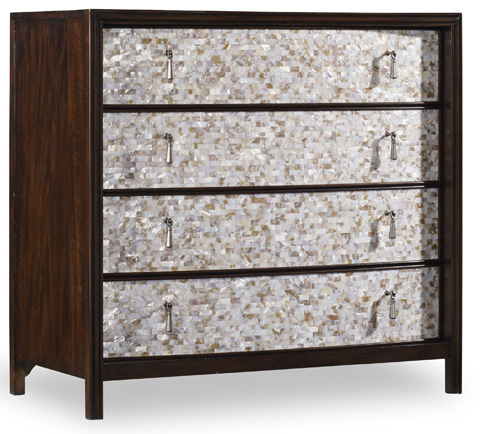 Hooker Furniture - Mother of Pearl Chest - 5428-85001
