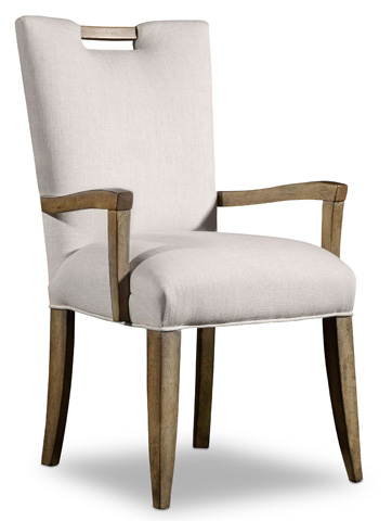 Hooker Furniture - Melange Barrett Upholstered Arm Chair - 638-75134