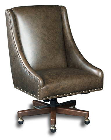 Hooker Furniture - Bronx Cocoa Home Office Chair - EC456-088
