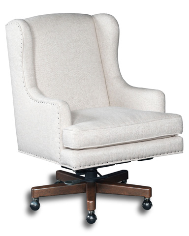 Hooker Furniture - Chateau Linen Home Office Chair - EC459-010