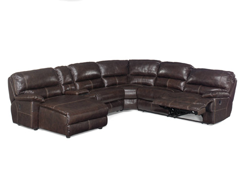 Hooker Furniture - Espresso Six Piece Sectional - SS606-LC-089