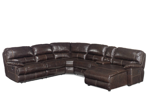 Hooker Furniture - Espresso Six Piece Sectional - SS606-RC-089