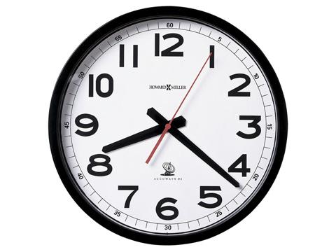 Howard Miller Clock Co. - Accuwave Wall II Clock - 625-205