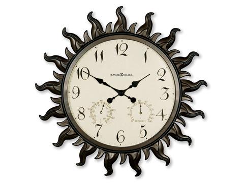 Howard Miller Clock Co. - Sunburst II Wall Clock - 625-543