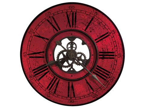 Howard Miller Clock Co. - Brassworks II Wall Clock - 625-569
