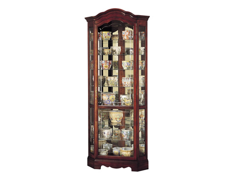 Howard Miller Clock Co. - Jamestown Display Cabinet - 680-249
