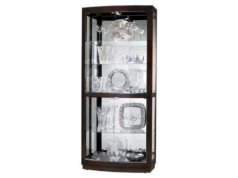 Howard Miller Clock Co. - Bradington Display Cabinet - 680-395